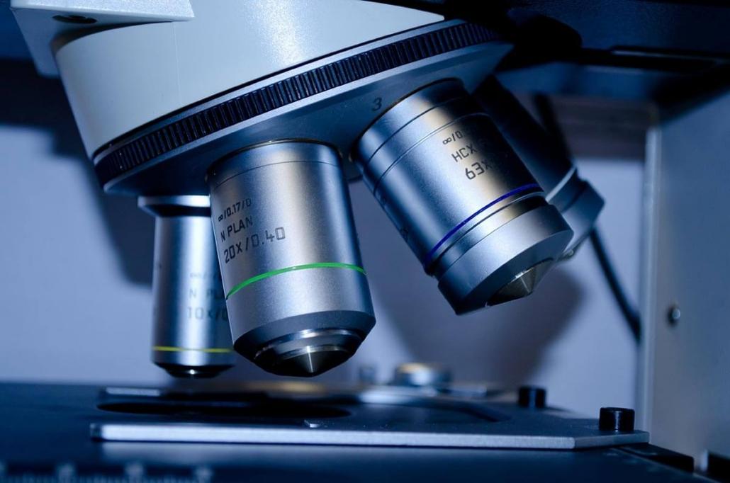obiektywy mikroskopu