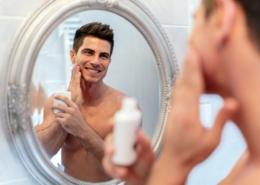 pielęgnacja twarzy męskiej