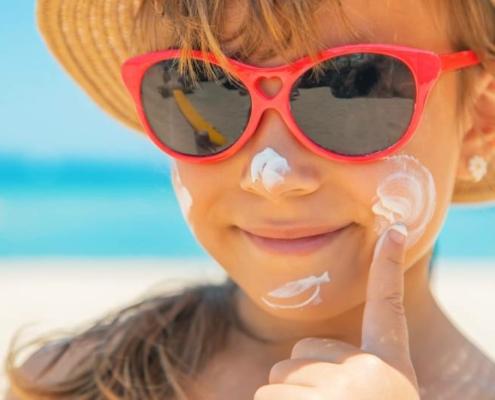 krem na słońce dla dzieci