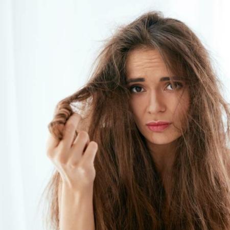 przeproteinowane włosy