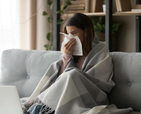 przeziębienie domowe leczenie