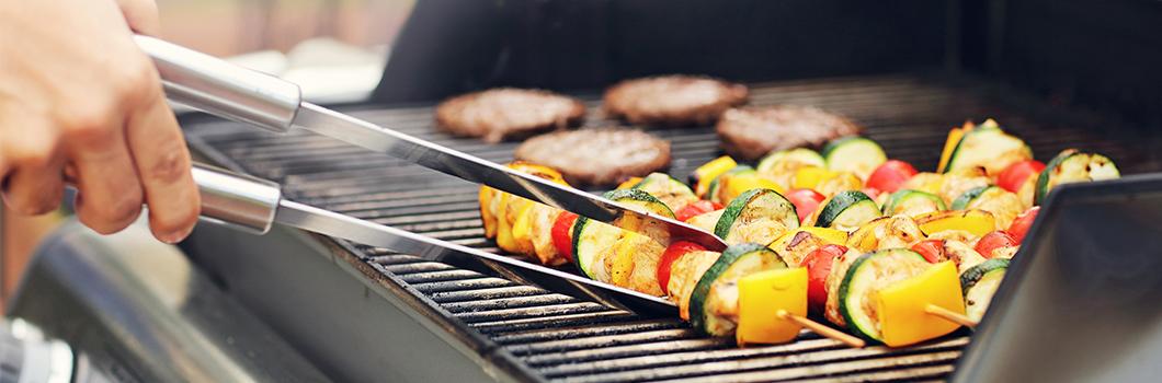 wegetariańskie grillowanie