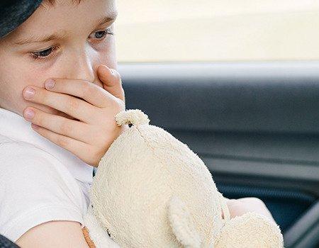 choroba lokomocyjna u dziecka