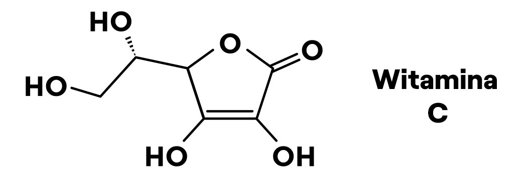 wzór witaminy c