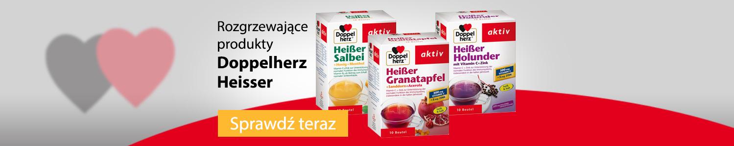 Rozgrzewające produkty Doppelherz Heisser