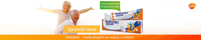 Voltaren - twój ekspert w walce z bólem.