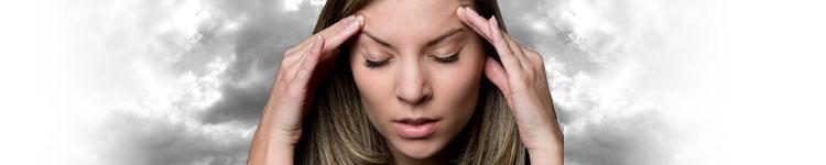 Ból głowy przy zmianie pogody