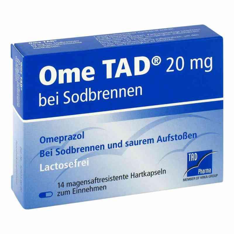 Ome Tad 20 mg b.Sodbrennen Hartkps.magensaftr.  zamów na apo-discounter.pl