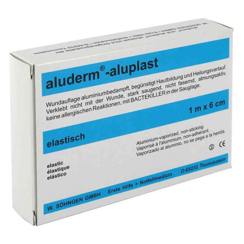 Aluderm Aluplast bandaż na rany plastry 1mx6cm elastyczny  zamów na apo-discounter.pl