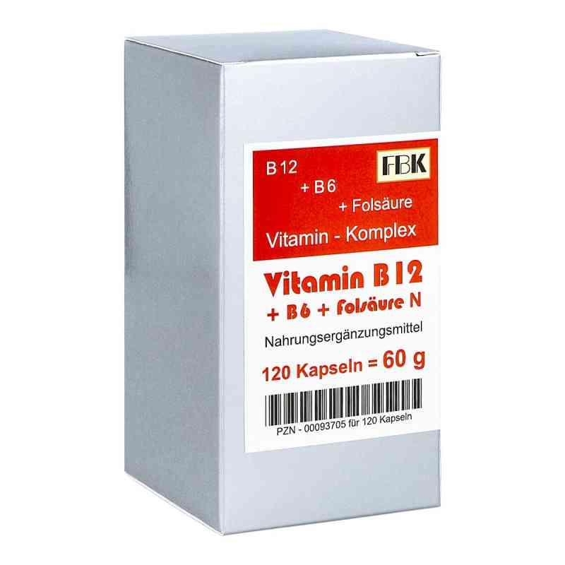 Witamina B12 + B6 + kwas foliowy N kapsułki zamów na apo-discounter.pl