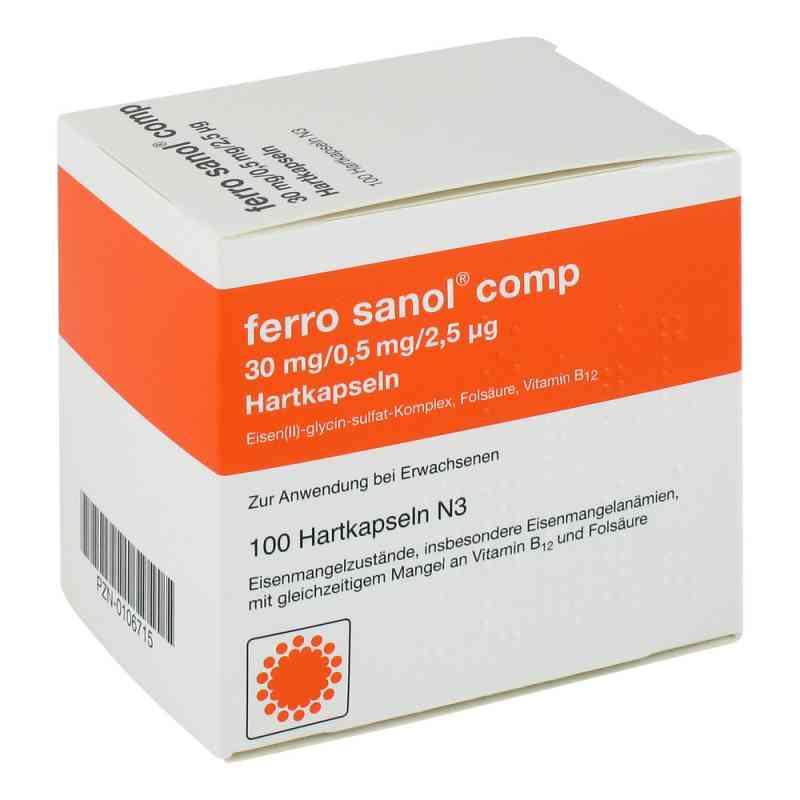 Ferro Sanol comp. Kapseln  zamów na apo-discounter.pl