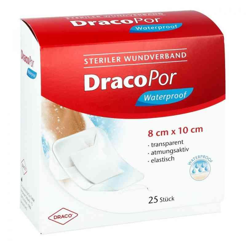 Dracopor waterproof Wundverband steril 8x10cm 25 szt. od Dr. Ausbüttel & Co. GmbH PZN 00114264