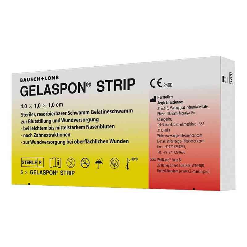 Gelaspon Strip 4x1x1 cm paski żelowe  zamów na apo-discounter.pl