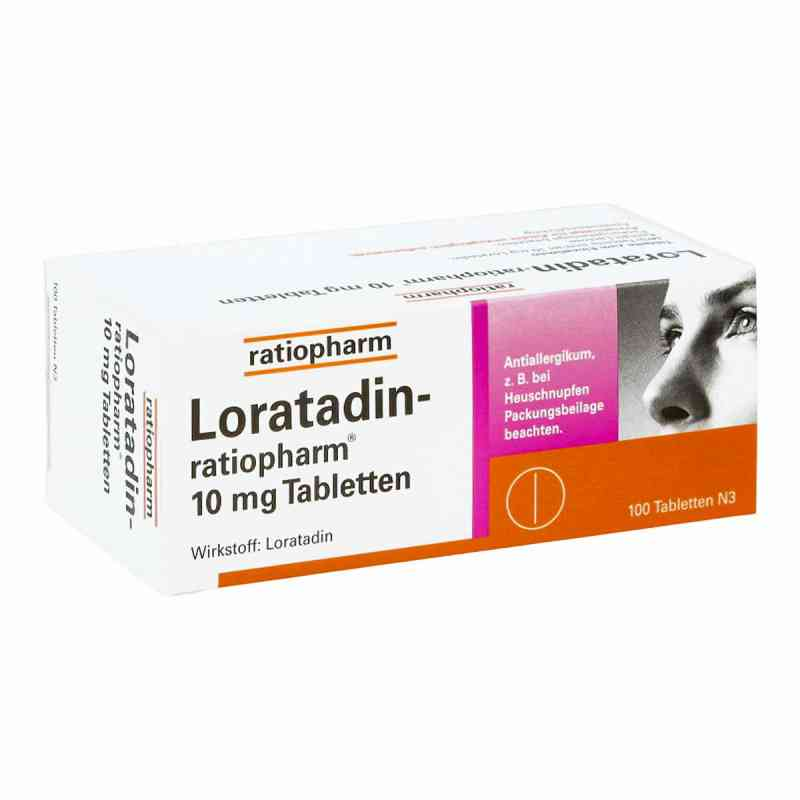 Loratadin ratiopharm 10 mg Tabletten  zamów na apo-discounter.pl