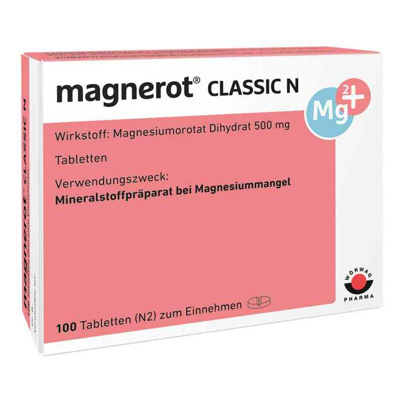 Magnerot Classic N Tabletten  zamów na apo-discounter.pl