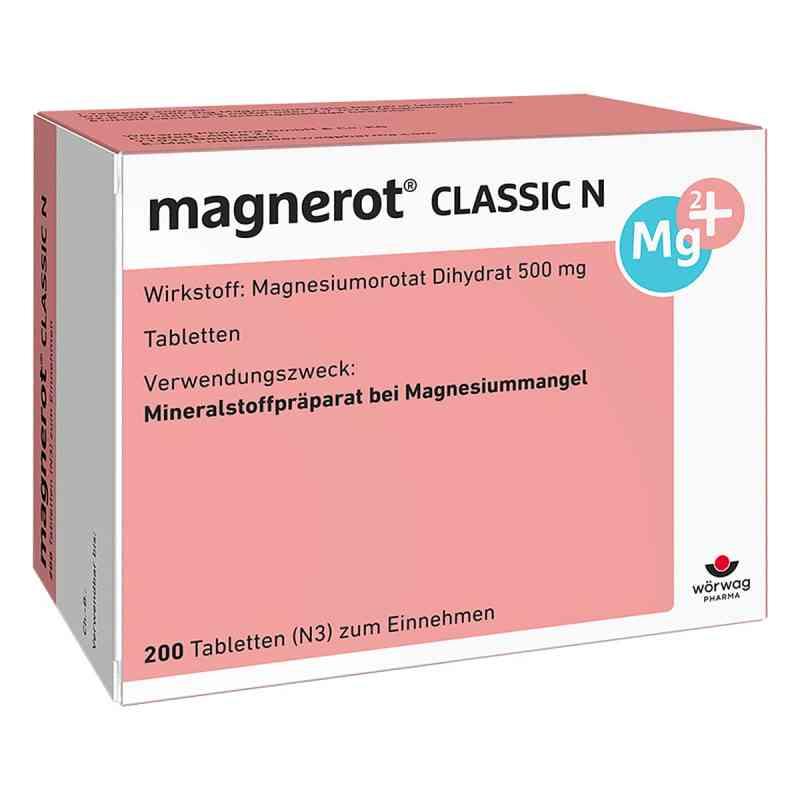 Magnerot Classic N tabletki zamów na apo-discounter.pl