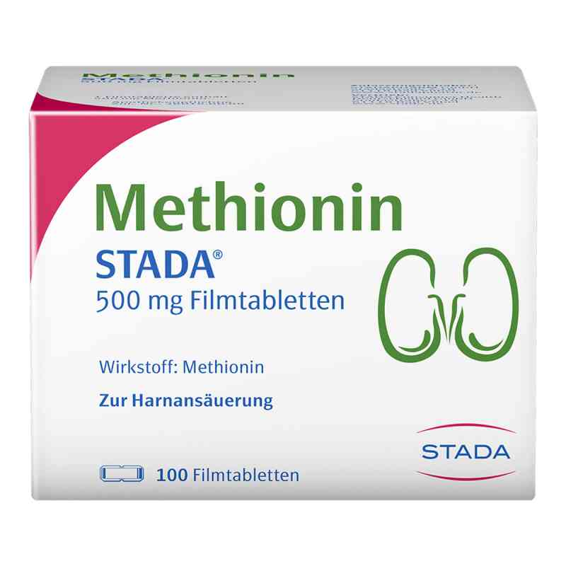 Methionin Stada 500 mg Filmtabl.  zamów na apo-discounter.pl