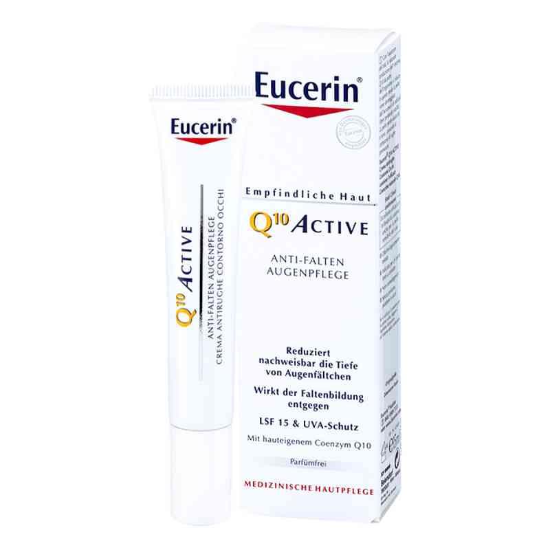 Eucerin Q10 Active Krem przeciwzmarszczkowy pod oczy   zamów na apo-discounter.pl