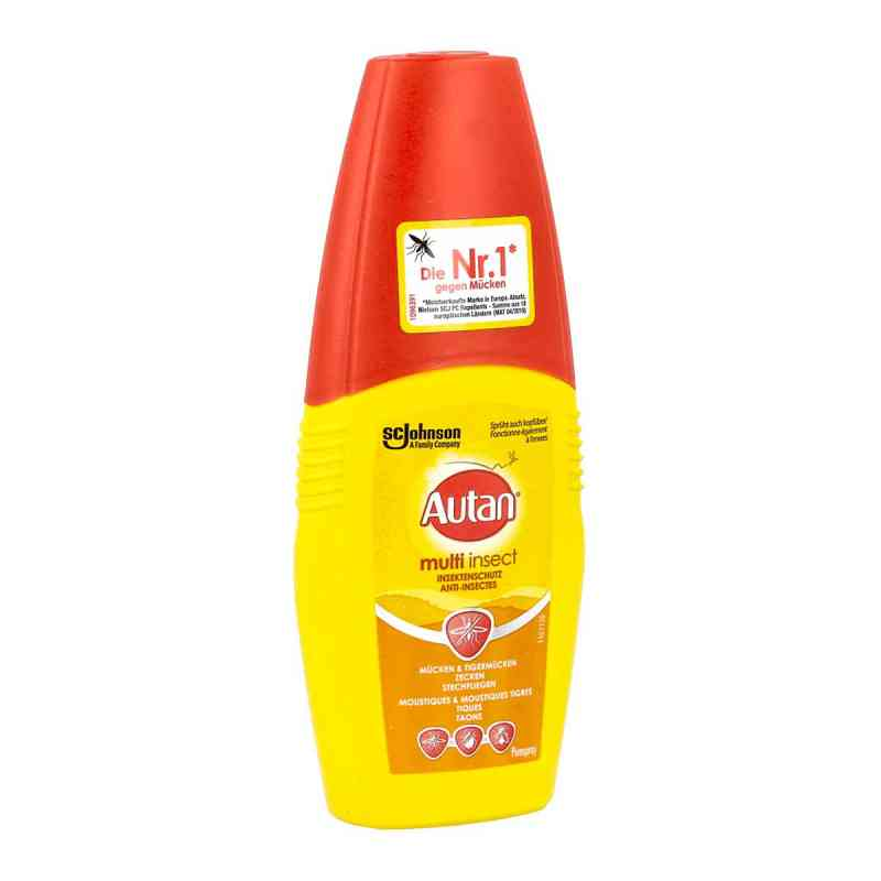 Autan Protection Plus spray z pompką zamów na apo-discounter.pl