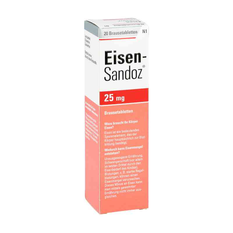Eisen Sandoz Brausetabl.  zamów na apo-discounter.pl