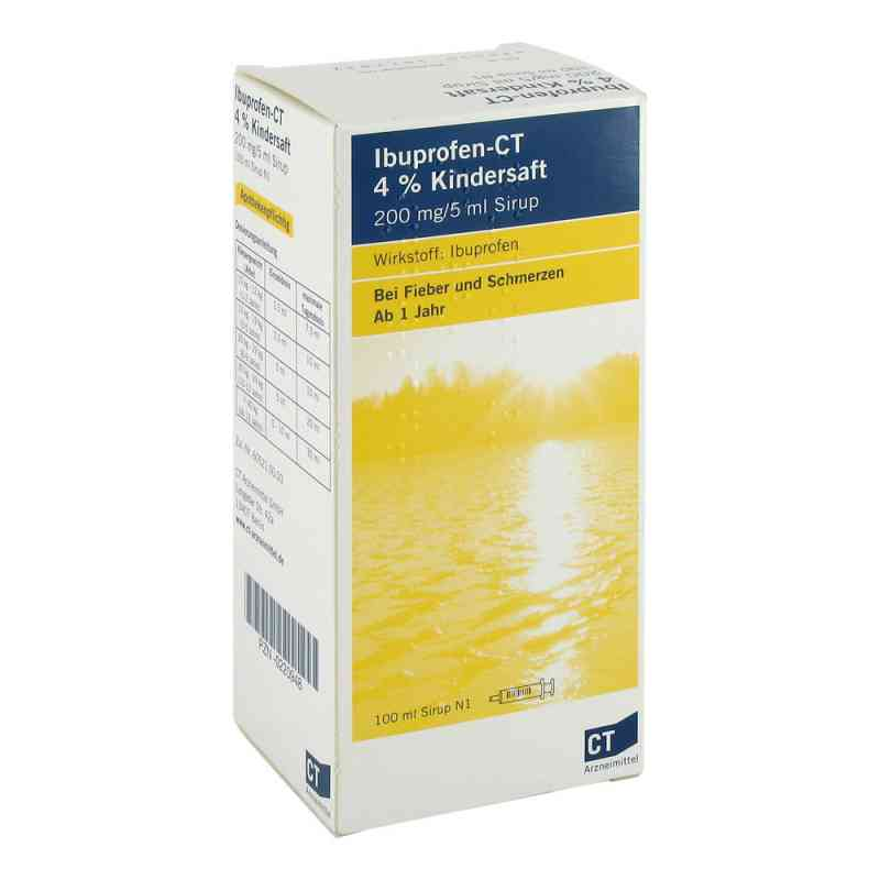 Ibuprofen- Ct 4% Kindersaft  zamów na apo-discounter.pl