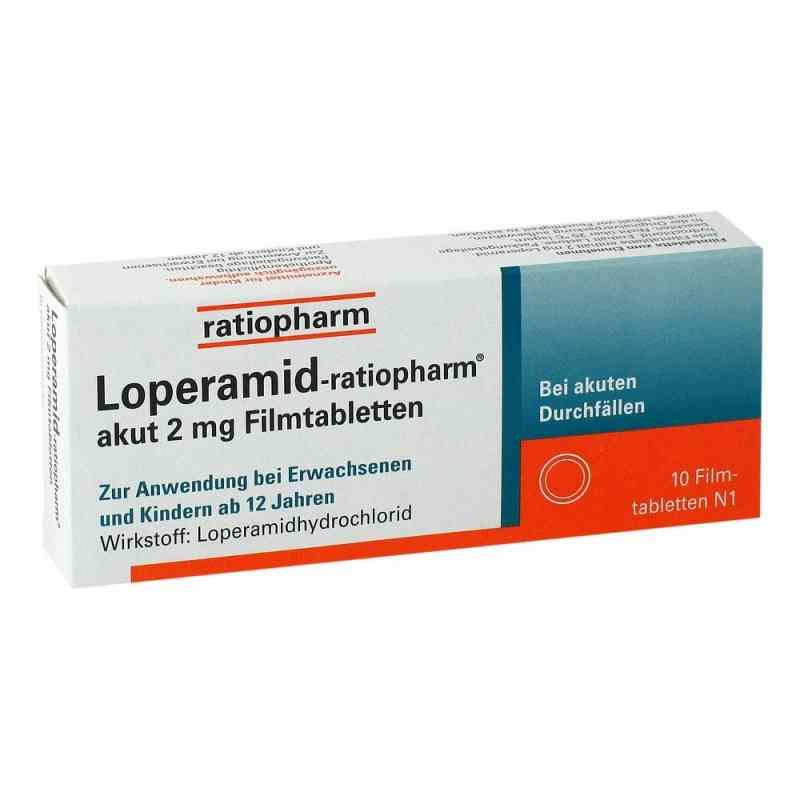 Loperamid ratiopharm akut 2 mg Filmtabl.  zamów na apo-discounter.pl