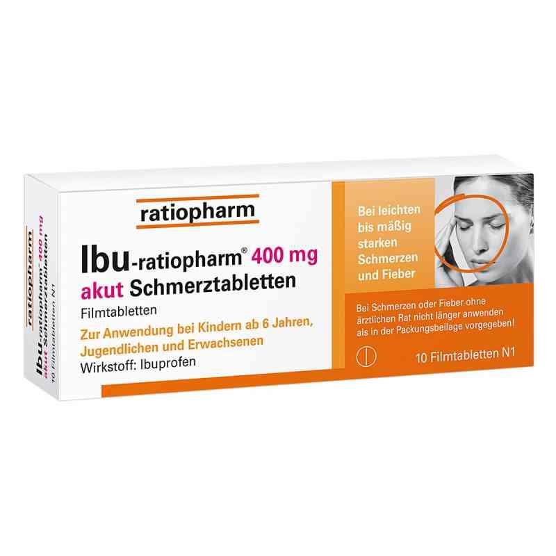 Ibu Ratiopharm 400 mg akut Schmerztbl. Filmtabl. zamów na apo-discounter.pl