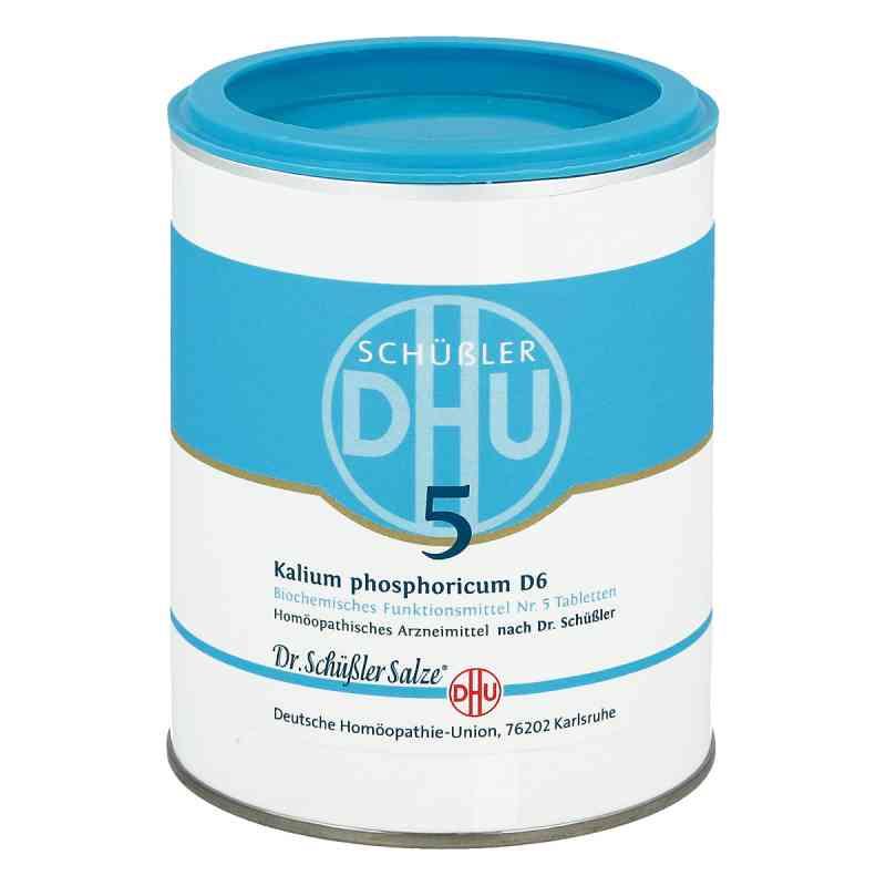 Biochemie Dhu 5 Kalium phosphor.D 6 Tabl.  zamów na apo-discounter.pl