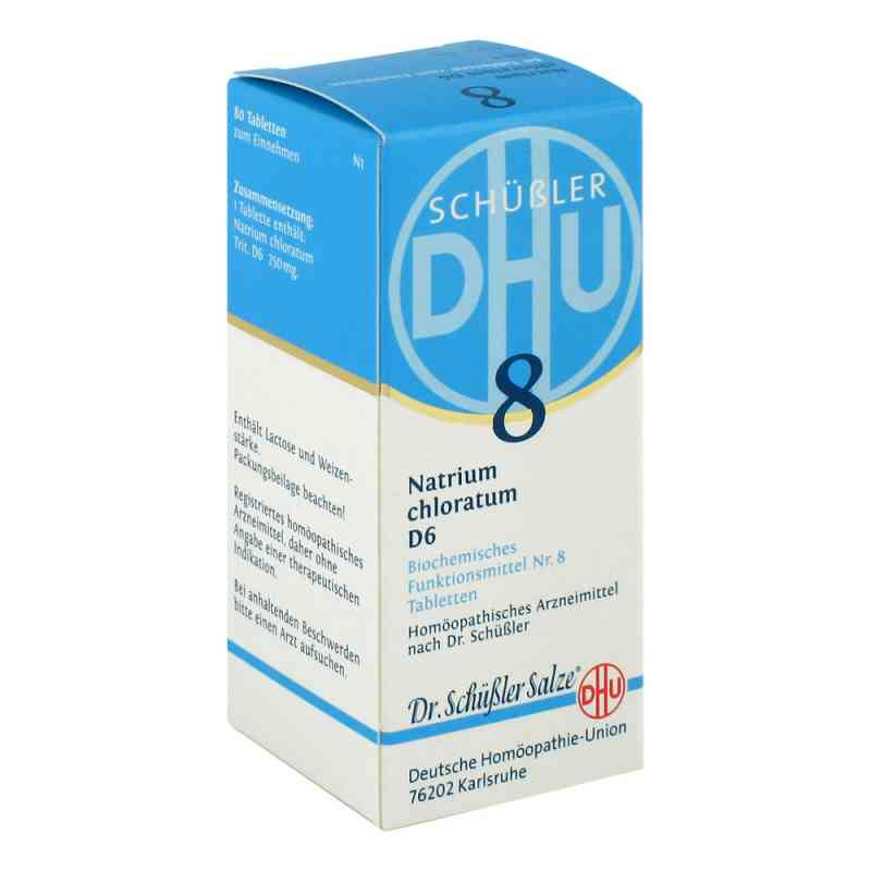 Biochemie DHU sól Nr 8 Chlorek sodu D6, tabletki  zamów na apo-discounter.pl