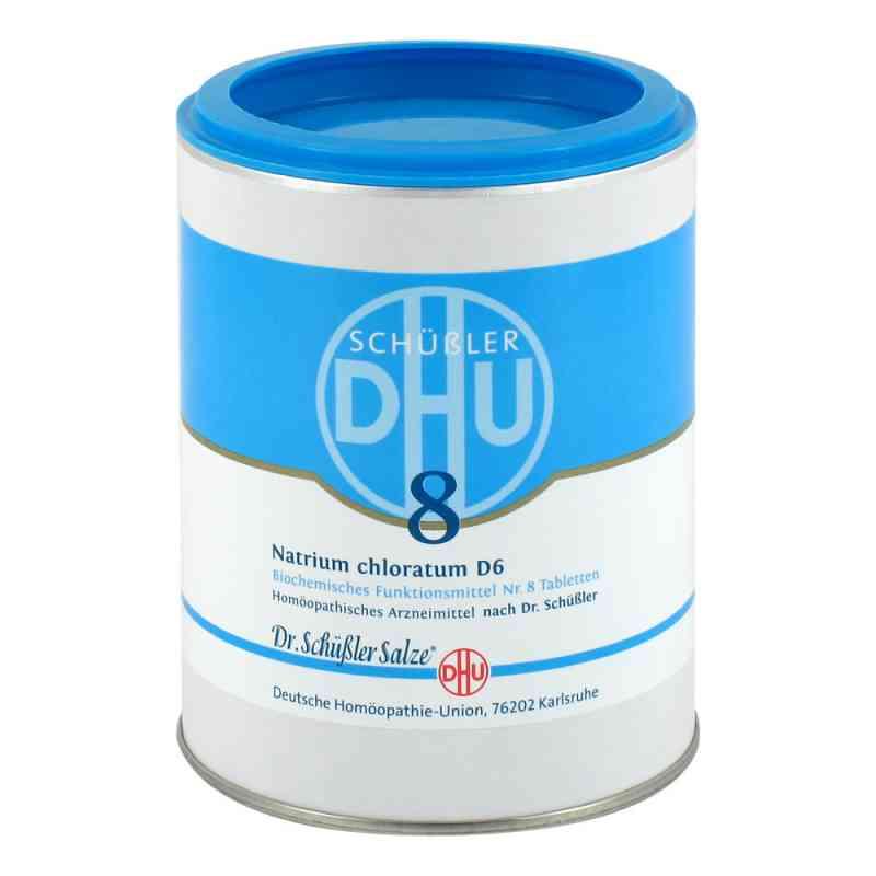 Biochemie Dhu 8 Natrium chlor. D 6 Tabl.  zamów na apo-discounter.pl