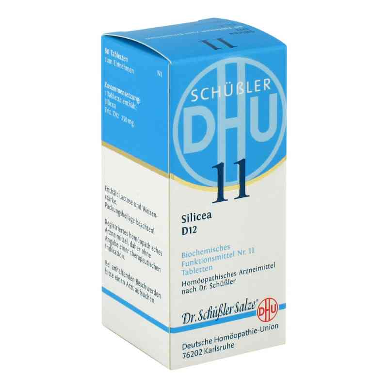 Biochemie DHU sól Nr 11 Krzemionka D6, tabletki  zamów na apo-discounter.pl