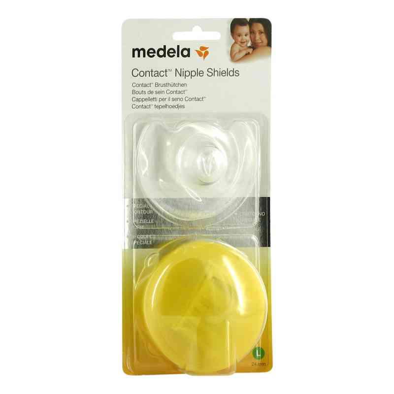 Medela Brusthuetchen Contact L nakładki na piersi z opakowaniem  zamów na apo-discounter.pl
