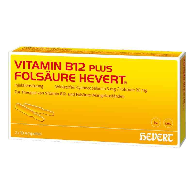 Vitamin B 12 Folsaeure Hevert Amp.-paare zamów na apo-discounter.pl