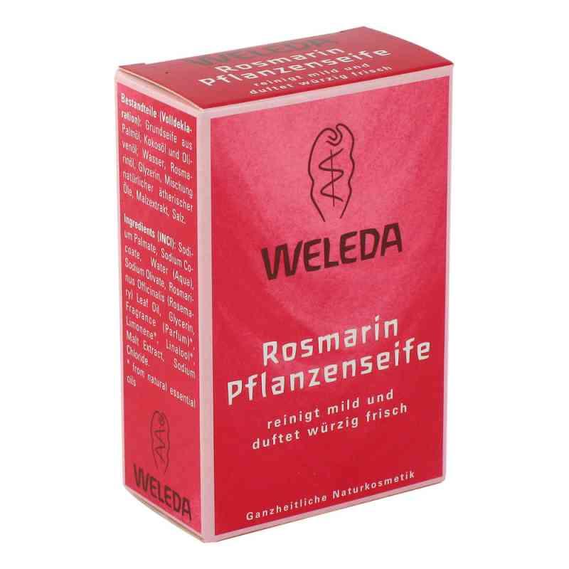 Weleda Mydło roślinne z olejkiem rozmarynowym  zamów na apo-discounter.pl