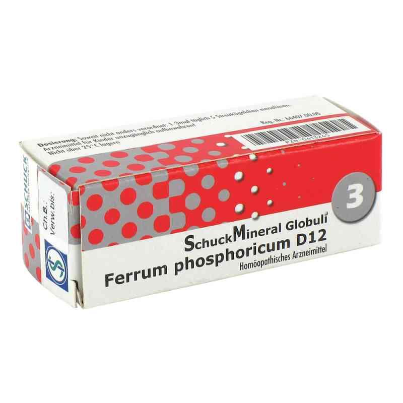 Schuckmineral Globuli 3 Ferrum phosph. D12 zamów na apo-discounter.pl