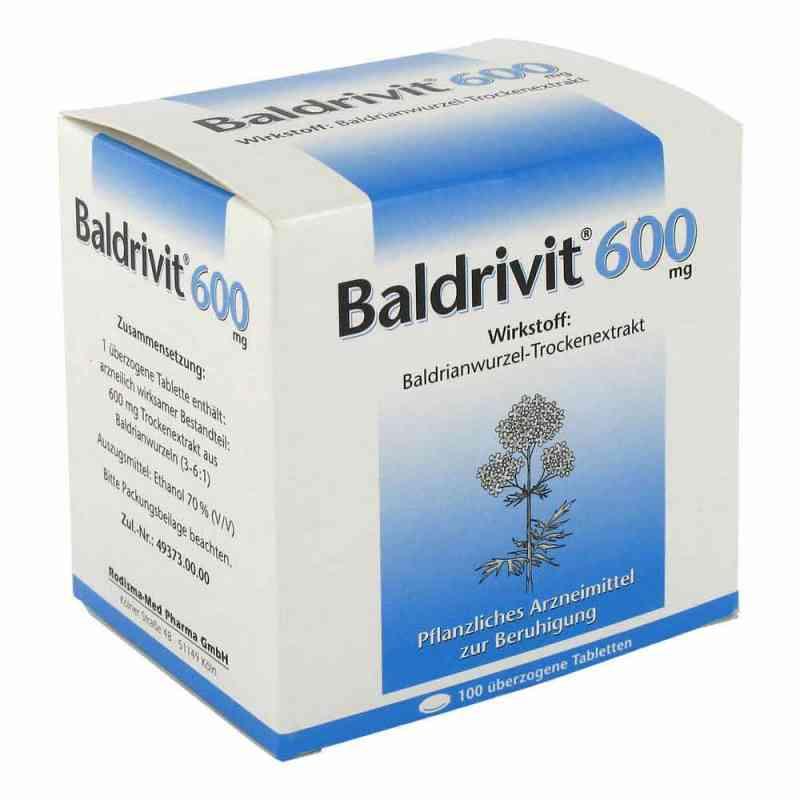 Baldrivit 600 mg tabletki powlekane  zamów na apo-discounter.pl