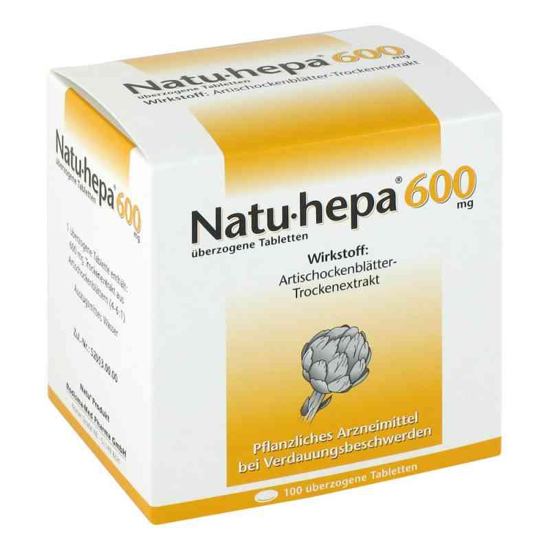 Natu Hepa 600 mg ueberzogene Tabl.  zamów na apo-discounter.pl