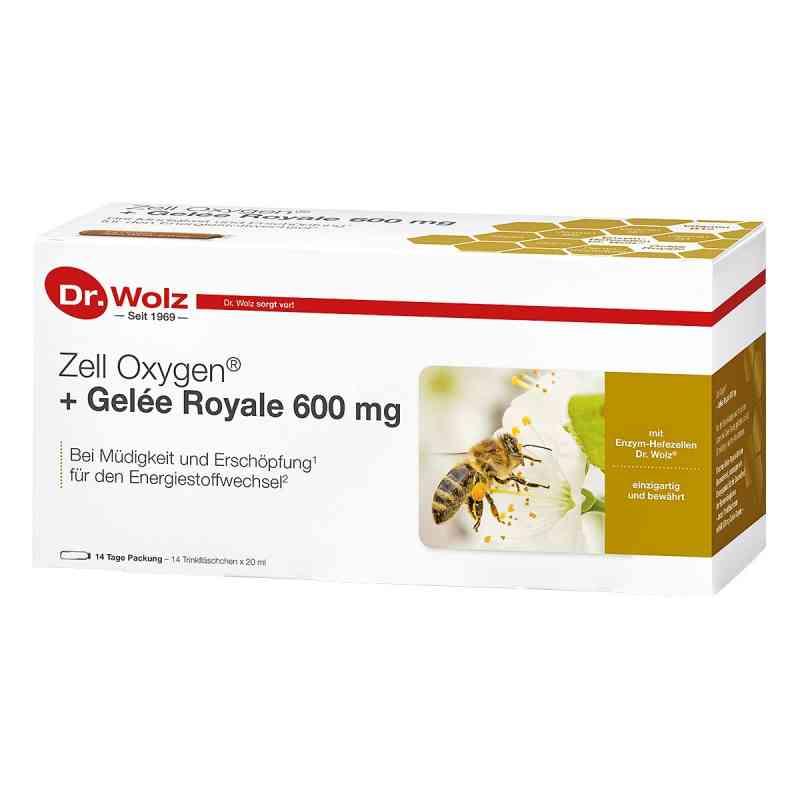 Dr Wolz Zell Oxygen mleczko pszczele 600 mg ampułki   zamów na apo-discounter.pl