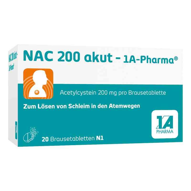 Nac 200 akut 1a Pharma Brausetabl.  zamów na apo-discounter.pl