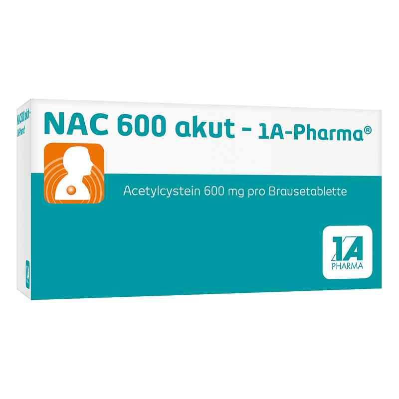 Nac 600 akut 1a Pharma Brausetabl.  zamów na apo-discounter.pl