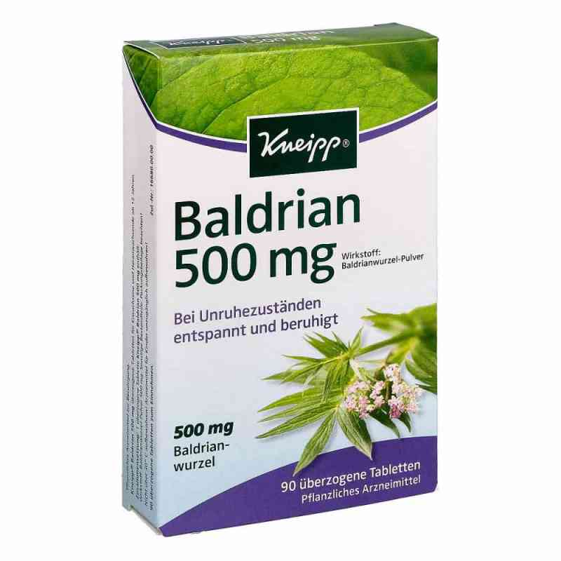 Kneipp Baldrian 500 tabletki powlekane  zamów na apo-discounter.pl