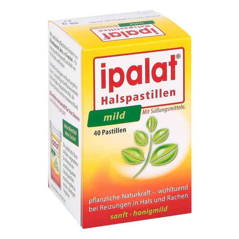 Ipalat mild łagodne pastylki na gardło  zamów na apo-discounter.pl