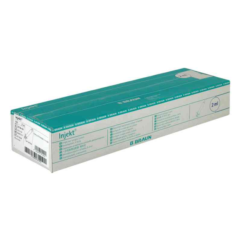 Infusionszubehoer Injekt Luer Lock Pvc frei 100X2 ml od B. Braun Melsungen AG PZN 00610968