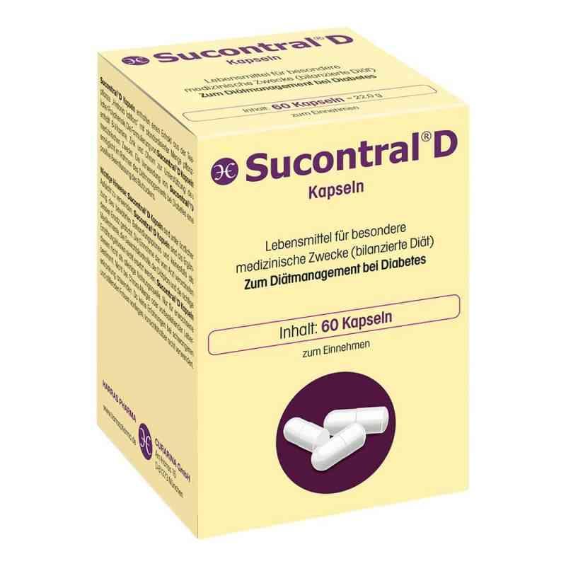 Sucontral D dla diabetyków Kapsułki   zamów na apo-discounter.pl