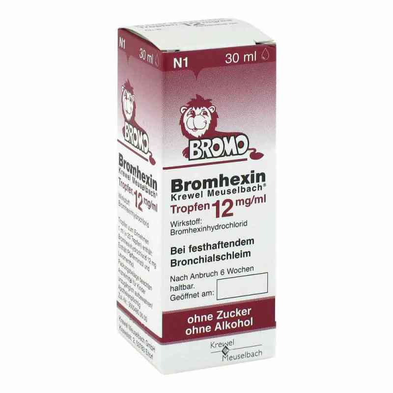 Bromhexin Krewel Meuselb.tropfen 12mg/ml zamów na apo-discounter.pl