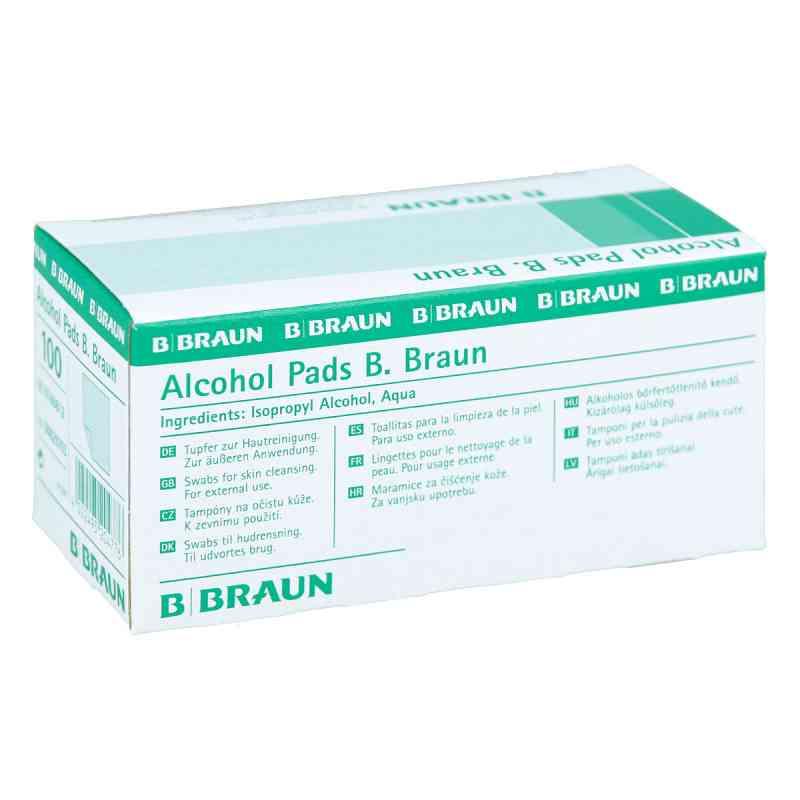 Waciki do odkażania nasączone alkoholem - Braun  zamów na apo-discounter.pl