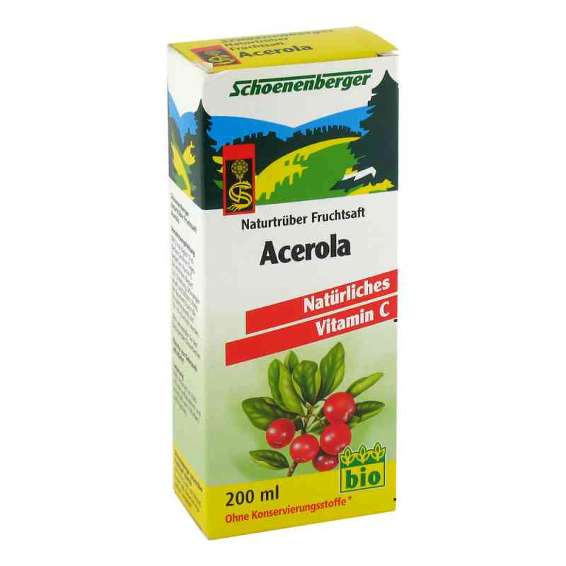 Acerola Schoenenberger sok z aceroli BIO zamów na apo-discounter.pl
