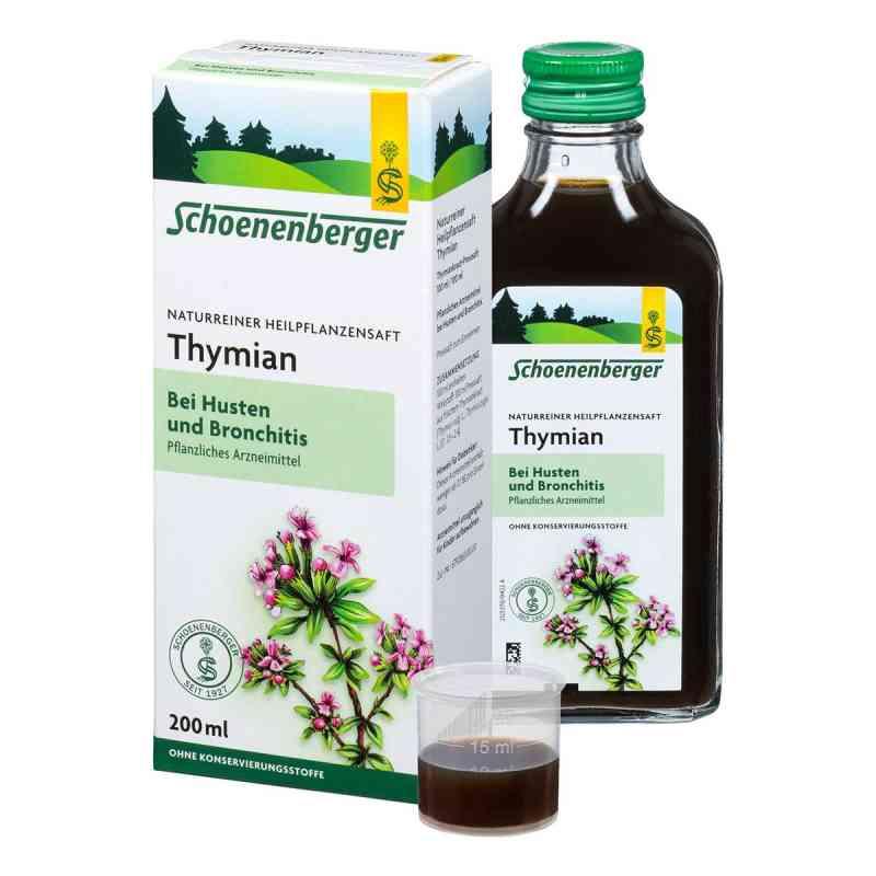 Thymian Saft Schoenenberger zamów na apo-discounter.pl