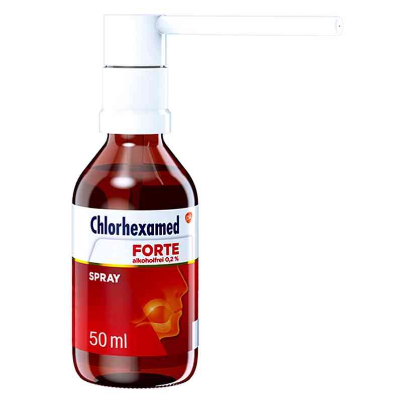 Chlorhexamed Forte alkoholfrei 0,2% Spray  zamów na apo-discounter.pl