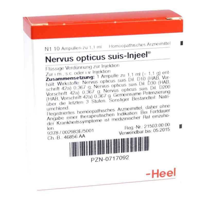Nervus Opticus suis Injeel ampułki  zamów na apo-discounter.pl